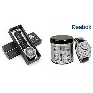 Combo Offer Reebok + Ustin Polo Club Watches