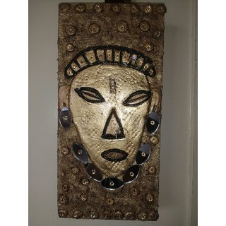African Tribal Mask Wall Decor