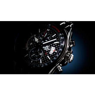 CASIO EDIFICE EF 501D Black Dial CHRONOGRAPH WATCH With ALARM - 1 Yr Warranty