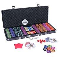 Casinoite 500 Port of Macau Clay Poker Chip Set Toy