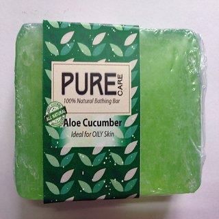 Aloe Cucumber Natural Glycerine Soap