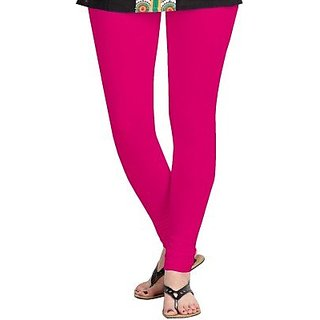 Fashion's Cotton Legging, Colour - RANI / DARK PINK, Size Free Size