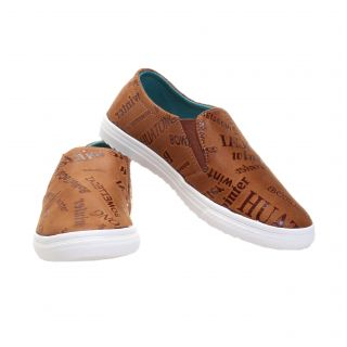 TOMCAT Women Brown Stylish Casual Shoes-SK-15