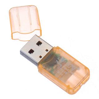 VJOY CR-246 Card Reader (Orange) (Single Format for MicroSD Cards, Plug  Play Type with LED Indicators) USB V2.1  V1.1 Card Reader
