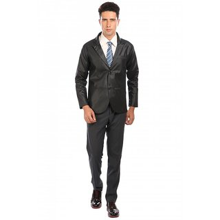 Nu abc Black Shinning Blazer For Men