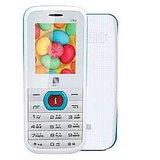 IBall King 1.8D Dual SIM Mobile Phone - White Blue