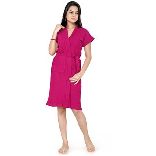Imported Cotton Bathrobe (Rani)