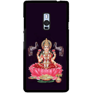 ifasho Lord Laxmi Back Case Cover for One Plus Two