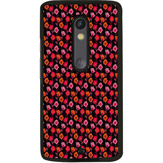 ifasho Animated Pattern design many small flowers  Back Case Cover for Moto X Play