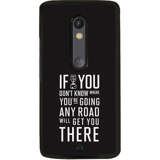 ifasho quotes on success Back Case Cover for Moto X Play