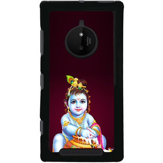 ifasho Lord Krishna stealing curd Back Case Cover for Nokia 830