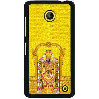 ifasho Tirupati Balaji Back Case Cover for Nokia Lumia 630
