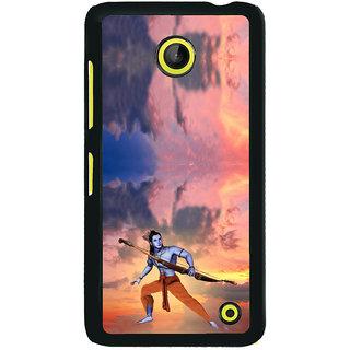 ifasho Lord Rama Back Case Cover for Nokia Lumia 630