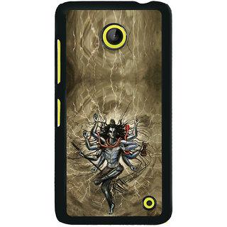 ifasho Siva tandab dance Back Case Cover for Nokia Lumia 630