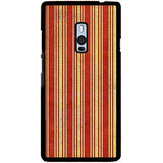 ifasho Design lines pattern Back Case Cover for One Plus Two