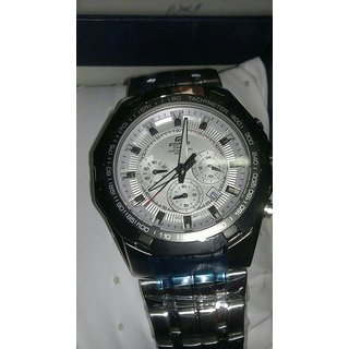 Casio Edifice 550 Redbull Limited Edition White Dial