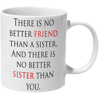Mooch Wale Friend Sisiter Ceramic Mug