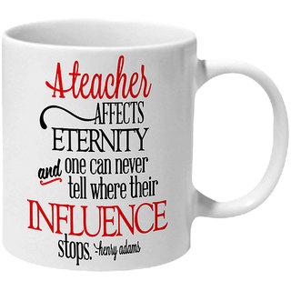 Mooch Wale A Teacher And Influence By Henry Adams Ceramic Mug