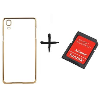 Meephone Back Cover for Samsung Galaxy A5 (2016) (GOLDEN) With Sd Card Adapter