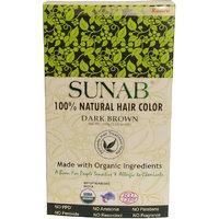 Radico Sunab Herbal Dark Brown Hair Color - 100gm