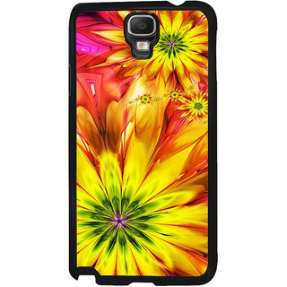ifasho Flower Design multi color Back Case Cover for Samsung Galaxy Note 3 Neo