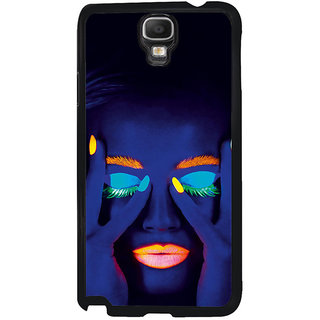 ifasho Girl with shining eyes and lips Back Case Cover for Samsung Galaxy Note 3 Neo