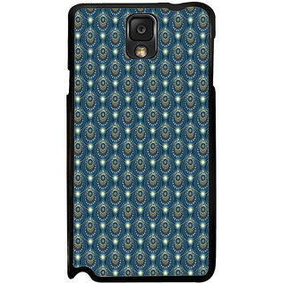 ifasho Animated Pattern design colorful flower in royal style Back Case Cover for Samsung Galaxy Note 3