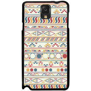 ifasho Animated Pattern colrful tribal design Back Case Cover for Samsung Galaxy Note 3
