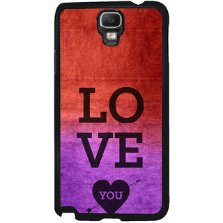 ifasho love you quotes Back Case Cover for Samsung Galaxy Note 3 Neo