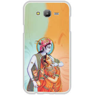 ifasho Lord Krishna and Meera Back Case Cover for Samsung Galaxy J7