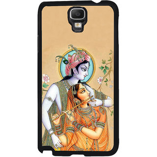 ifasho radha Krishna Back Case Cover for Samsung Galaxy Note 3 Neo