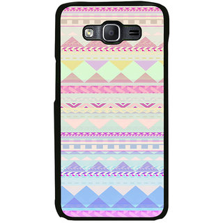ifasho multi color Triangular Pattern Back Case Cover for Samsung Galaxy On 7
