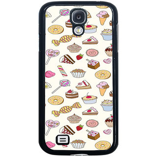 ifasho Animated food pattern Back Case Cover for Samsung Galaxy S4