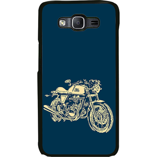 ifasho Fierry Bike Back Case Cover for Samsung Galaxy On 7 Pro