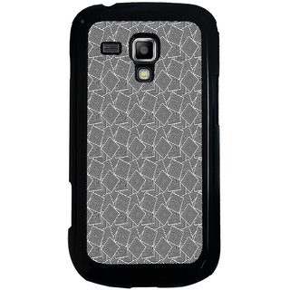 ifasho Modern Theme of black and white Squre inside square Back Case Cover for Samsung Galaxy S Duos S7562