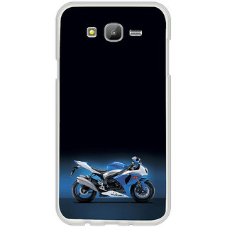ifasho Bikoholic Sport Bike Back Case Cover for Samsung Galaxy J5