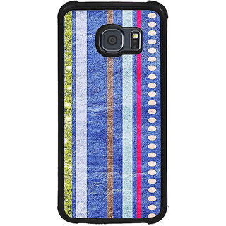 ifasho Animated Pattern colrful tribal design Back Case Cover for Samsung Galaxy S6 Edge Plus