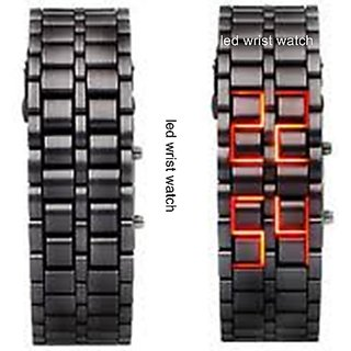 LED Digital Watch Cum Bracelet