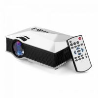 UNIC UC46 1200 Lumens Portable Multimedia HD Mini LED Projectors Private Home Theater Cinema With Miracast DLNA Airplay - 98450176