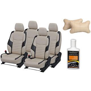Pegasus Premium Seat Cover for Tata Indica Vista with Neck rest and Dashboard polish