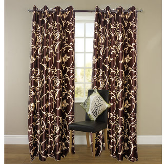iLiv Polyster Window Curtains - set of 2