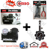 """Deal"" Coido 6526 Air  Inflator + Coido 6081 Repair Kit + Coido Pressure Gauge"