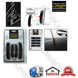 I-Pop I Pop IPop Simple Black Car Door Scratch Guard Protector- Black