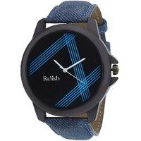 Relish Denim Analog Wear Watches for Men RELISH-525