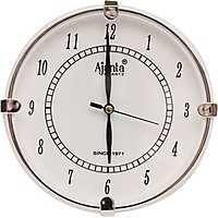 Ajanta Handcrafted Fiber Wall Clock With Glass