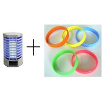 Combo of Insect and Mosquito Killer Night Lamp + Mosquito Band (1 Piece)