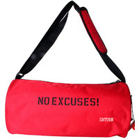 saturn  Polyester  Red Gym Bag