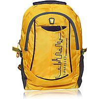 Waterproof  Trendy Laptop Backpack-Yellow
