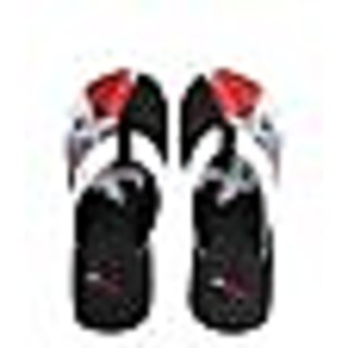 BRAND NEW LOTTO CROSS BLACK RED FLIP FLOP / SLIPPER GU3121 - VAT BILL