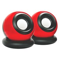 Round Speaker USB Mini Speaker (Color May Be Vary)